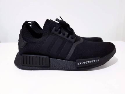NEW Adidas NMD Japan Triple Black - US 7.5-9.5-11