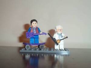 LEGO BACK TO THE FUTURE MARTY MCFLY & DOC---COMPATABLE LEGO Golden Grove Tea Tree Gully Area Preview