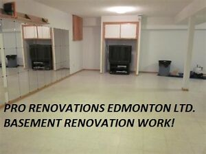 #1 ON BASEMENT FINISHED....WE ARE PROFESSIONALS!!! 780 719 5264