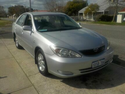 2002 Toyota Camry MCV36R Altise Silver 4 Speed Automatic Sedan Victoria Park Victoria Park Area Preview