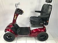 Shoprider Cordoba Deluxe 8 mph Large Electric Mobility Scooter inc & Warranty