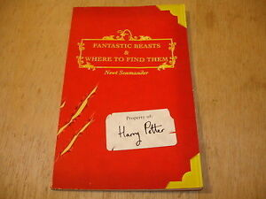 Fantastic Beasts & Where to Find Them. First Edition, 2001.