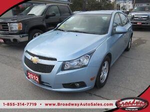 2012 Chevrolet Cruze 'GREAT KM'S' FUEL EFFICIENT LT MODEL 5 PASS
