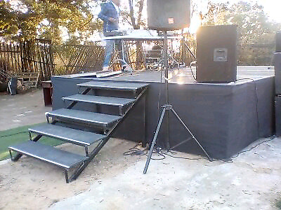 Stage hire from R350