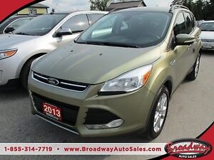 2013 Ford Escape LOADED SEL MODEL 5 PASSENGER 2.0L - ECO-BOOST..