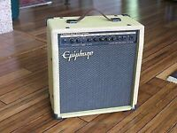 Epiphone tweed practice guitar  amp