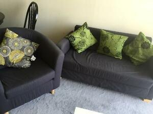 IKEA 9 month old - SOLSTA Sofa-bed and TULLSTA Armchair