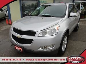 2012 Chevrolet Traverse POWER EQUIPPED LT EDITION 8 PASSENGER 3.