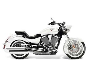 2013 Victory Motorcycles Boardwalk Pearl White
