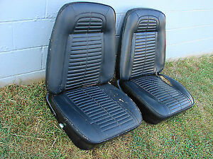 WANTED - Looking for 68 Firebird or Camaro Bucket Seats