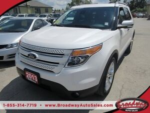 2013 Ford Explorer 'GORGEOUS' LOADED LIMITED EDITION 7 PASSENGER