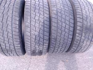 P275/60R20X4 COOPER DISCOVERY(RAM 1500 and FORD F_150)  ALL TRAIN USED FOR SALE