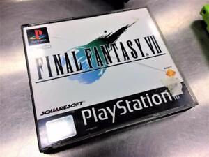 Final Fantasy VII sur Playstation1 PAL (édition européenne) #F023595