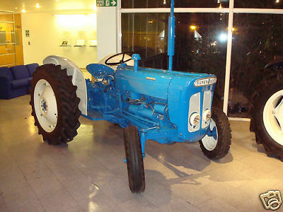 Fordson Super Dexta Tractor Workshop Manual  - CD Rom