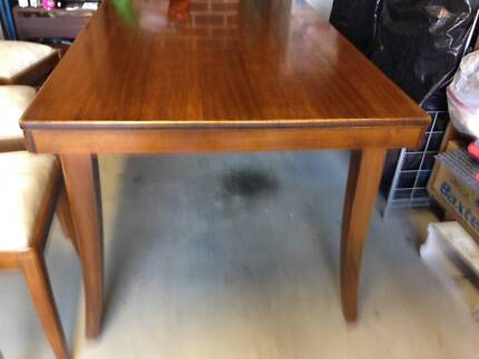 Mahogany Dining Table And Chairs Negotiable Doncaster East