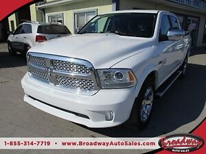 2015 Dodge Ram 1500 LOADED LARAMIE MODEL 5 PASSENGER 3.0L - ECO-