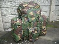 DPM Army Bergen with rocket pouches