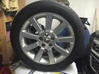 4 Range Rover winter tires and rims