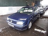 PRICED TO GO ONE OWNE SERVICE HISTORY VOLKSWAGEN GOLF MATCH - 1598cc