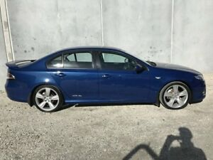 2010 Ford Falcon FG XR6 Blue 5 Speed Auto Seq Sportshift Sedan