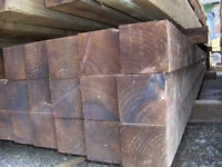 i have 15 FENCE POSTs 8ft or 2.4m long 4x4 inches or 100x100mm @ £9.50 each