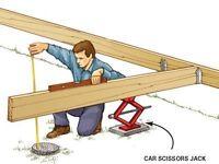 Seeking Handymen /Contractors to build decks & various projects