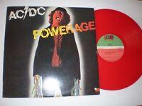 AC/DC Powerage Canadian Red Vinyl Very Rare