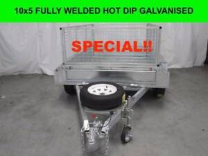 10x5 Fully Welded Hot Dip Galvanised Trailers 2000kg,GVM Dandenong South Greater Dandenong Preview