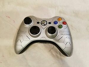 LIMITED EDITION HALO REACH WIRELESS XBOX 360 CONTROLLER FOR SALE