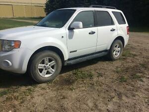 2008 Ford Escape hybrid SUV, Crossover