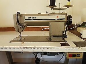 Singer 591 D300G Industrial Sewing Machine Head with Power Stand