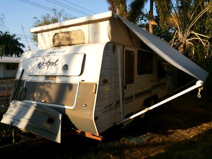 Jayco westport pop top caravan