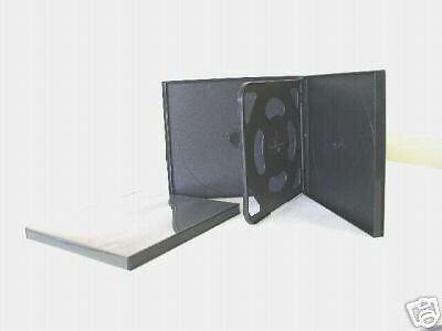 200 NEW SLIM QUAD 4 CD POLY CASES, PSC75 Slim Quad