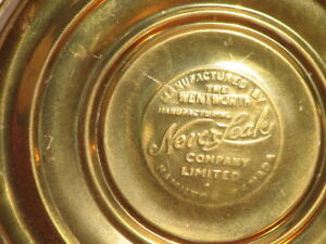 Vintage Brass Wentworth Never Leak Hot Water Bottle