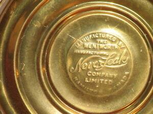 Vintage Brass Wentworth Never Leak Hot Water Bottle