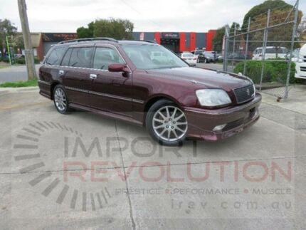2003 Toyota Crown Burgundy Automatic Wagon
