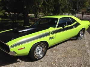 1971 Dodge Challenger TA 340 Six Pack