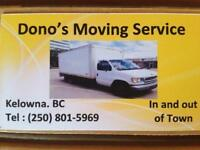 Dono's Moving