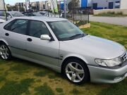 2002 Saab 9-3 440 MY2003 Aero Sport Metallic Grey 5 Speed Sports Automatic Sedan Wangara Wanneroo Area Preview