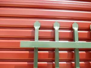 Spear Top Steel Security Fencing Panel Green Hatton Vale Lockyer Valley Preview