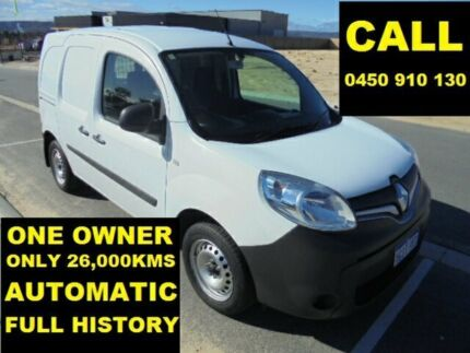 2013 Renault Kangoo X61 1.6 SWB White 4 Speed Automatic Van Ellenbrook Swan Area Preview