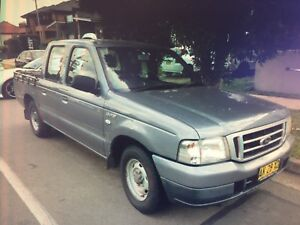 Ford courier 2006 Turbo diesel  crew cab. Guildford West Parramatta Area Preview