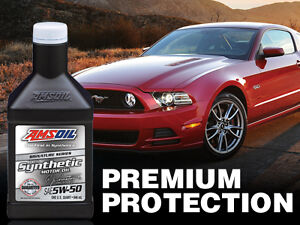 AMSOIL 5W-50 Full Synthetic for Mustangs & Focus RS