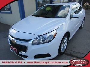 2015 Chevrolet Malibu LOADED LT EDITION 5 PASSENGER 2.5L - ECO-T