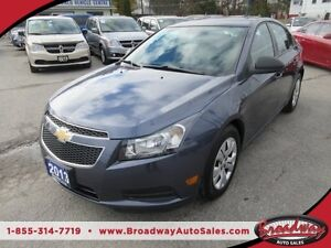 2013 Chevrolet Cruze 6-SPEED MANUAL POWER EQUIPPED LS MODEL 5 PA
