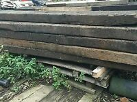 Railway Sleepers New and Used