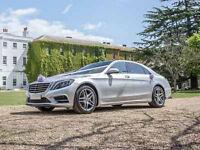 Mercedes Benz S Class LWB Chauffeur Driven Wedding Car Hire, Corporate, Proms, Events