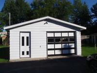 Garage double 625 pieds² entreposage joliette