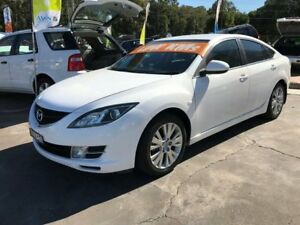 2008 Mazda 6 GH Classic White 6 Speed Manual Hatchback