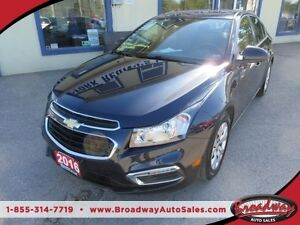 2016 Chevrolet Cruze FUEL EFFICIENT LT MODEL 5 PASSENGER 1.4L -